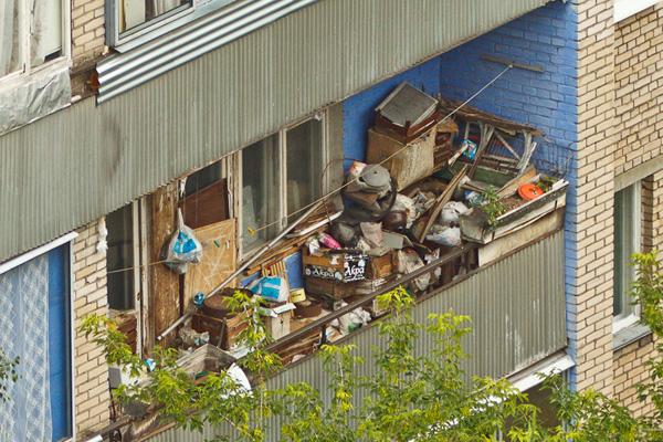 Уборка балконов и лоджий в Москве