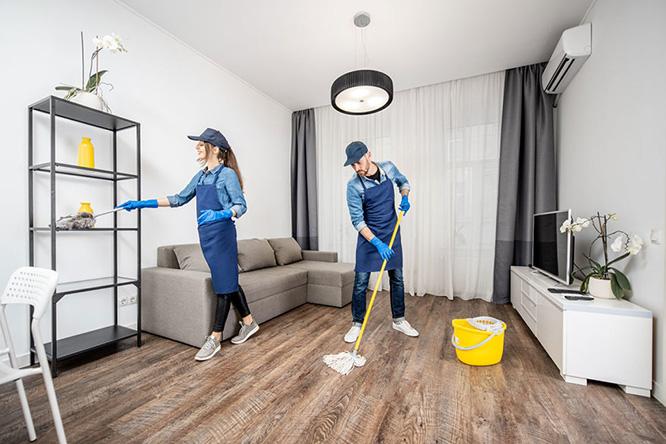 Уборка апартаментов